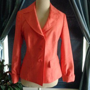Halloween Basler Black Label Orange Blazer 6